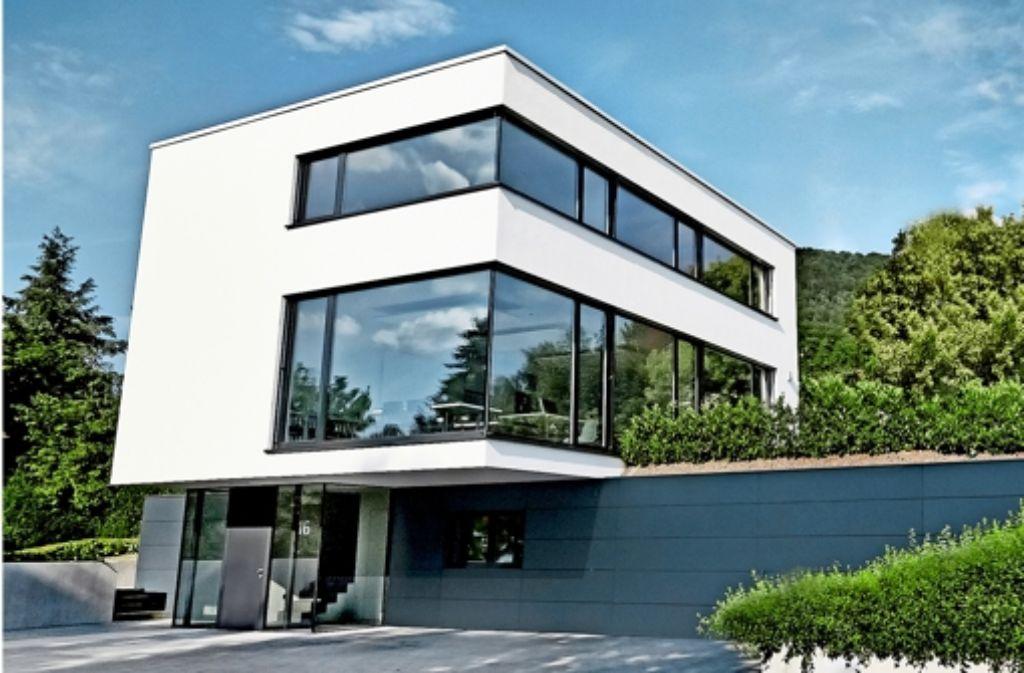 Wohnen und Arbeiten in Donzdorf am Hang überzeugte die Preisrichter mit ihren beispielhaften Innovationen. Foto: Landratsamt Göppingen