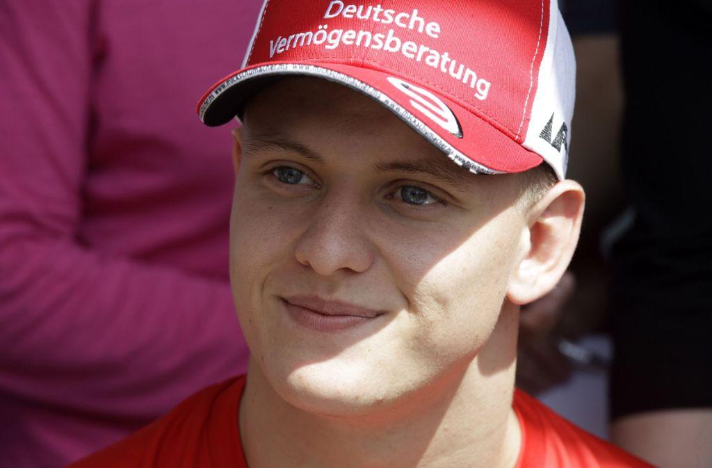Mick Schumacher erntete viel Lob nach seinem Formel-1-Testdebüt für Ferrari. Foto: AP