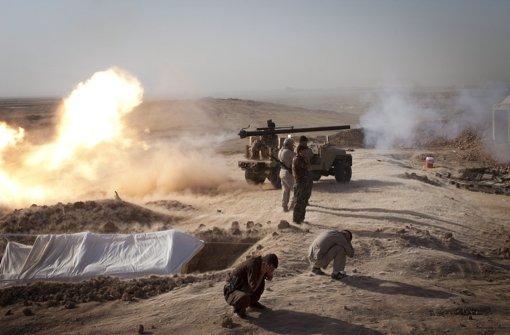 IS-Kämpfer machen an Boden gut