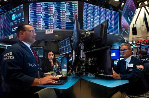 Konjunkturangst treibt Anleger an der Wall Street in die Flucht