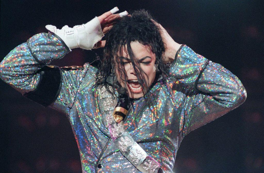 Musikalisch ein Genie, aber menschlich? Michael Jackson, Pop-Ikone mit vielen Kratzern. Foto: dpa