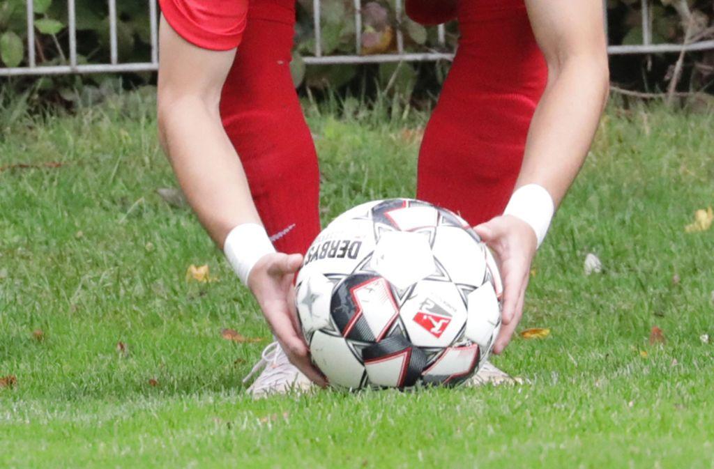 Im letzten Hinrundenspiel ging die Verbandsliga-Reserve beim VfR Murrhardt mit 1:6 unter. Foto: Patricia Sigerist