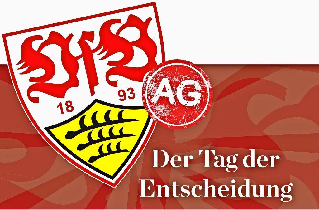 Am 1. Juni haben die Mitglieder des VfB Stuttgart die Wahl: Wird die Profiabteilung ausgegliedert? Foto: StZN