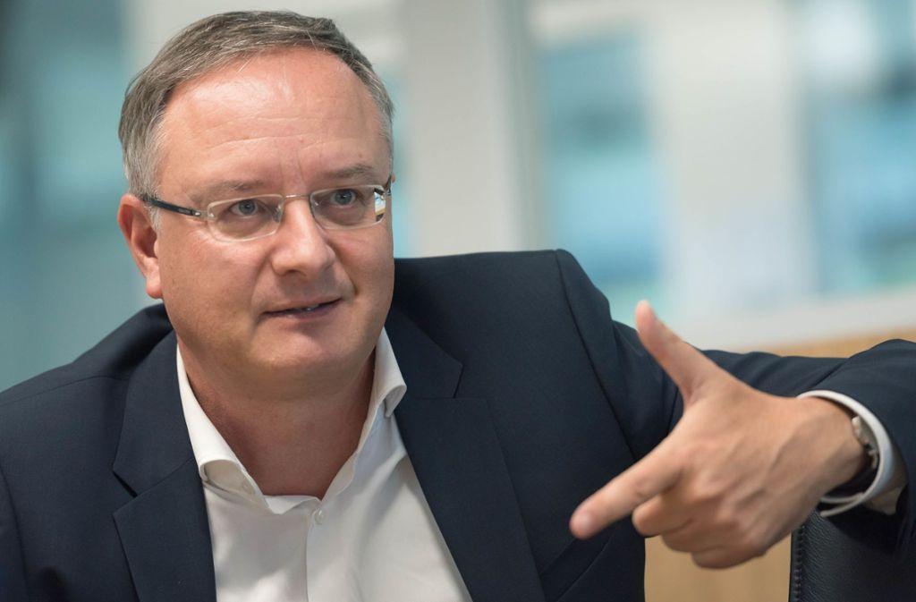 SPD-Landesvorsitzender Andreas Stoch ist am Donnerstag 50 Jahre alt geworden. Foto: /Lichtgut/Max Kovalenko