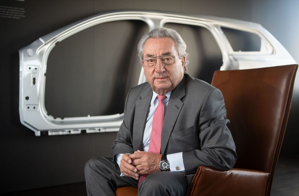 Das Unternehmen des früheren Arbeitgeberpräsidenten Dieter Hundt ist stark von der  Entwicklungin der Autoindustrie abhängig. Foto: picture alliance/dpa