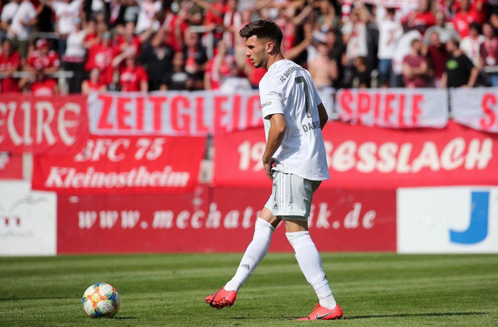 Dem Ex-Stuttgarter Leon Dajaku  gelangen gegen Weißrussland zwei Treffer. (Archivbild) Foto: Pressefoto Baumann/Julia Rahn