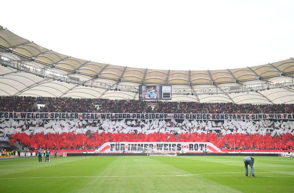 Wir testen Ihr VfB-Fachwissen – mit unserem MeinVfB-Pubquiz. Foto: dpa/Marijan Murat