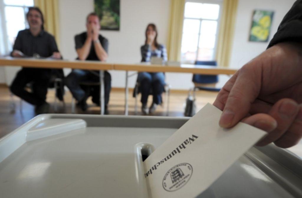 Am Dienstag entscheidet sich, welche Kandidaten zur OB-Wahl im Oktober zugelassen werden. Foto: dpa