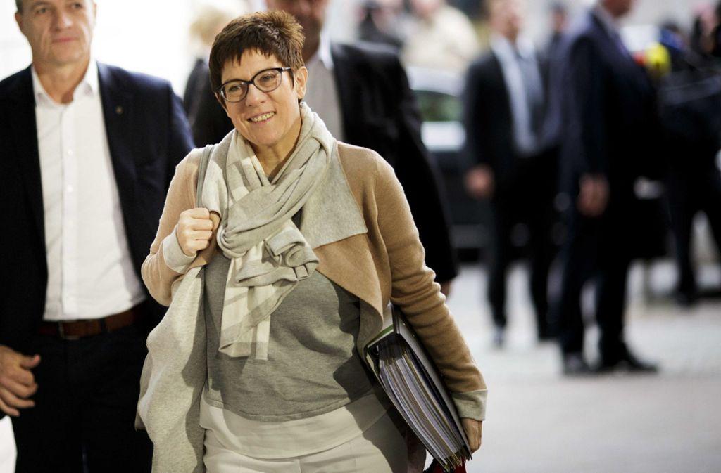 Mehr Frauen in der katholischen Kirche: CDU-Generalsekretärin Kramp-Karrenbauer kann sich eine Frauenquote vorstellen. Foto: Getty Images Europe