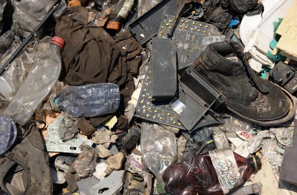 PET-Flaschen und Styropor haben den größten Anteil am Plastikmüll. Foto: dpa