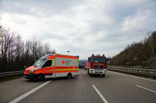Auf Lastwagen aufgefahren – Zwei Verletzte