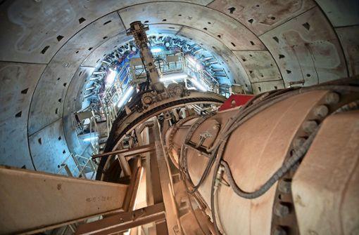 Weiter Sprengungen für Fildertunnel