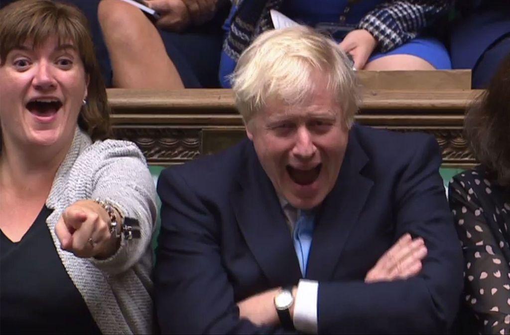 Johnsons Antrag auf eine vorgezogene Neuwahl verfehlte die nötige Zweidrittelmehrheit. Foto: AFP