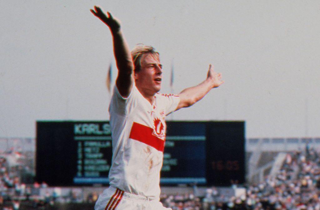 Platz 1: Jürgen Klinsmann, 6176 Stimmen Foto: Pressefoto Baumann