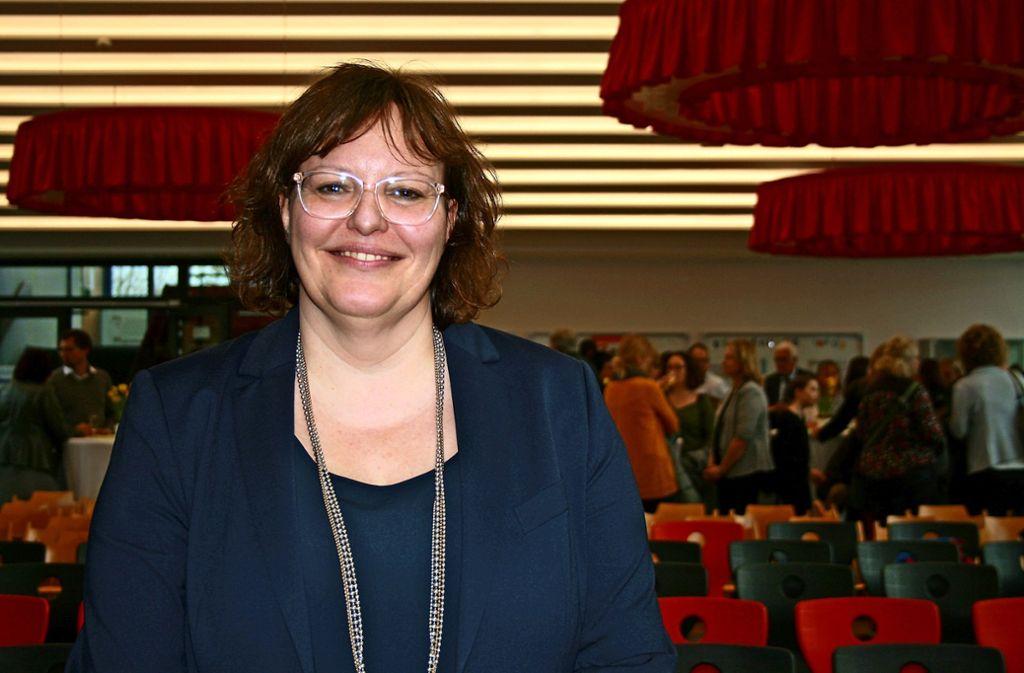 Die neue Schulleiterin ist die alte: Sabine Andreae leitet die Reisachschule bereits seit eineinhalb Jahren. Nun gab es die offizielle Feierlichkeit zum Amt. Foto: Marta Popowska