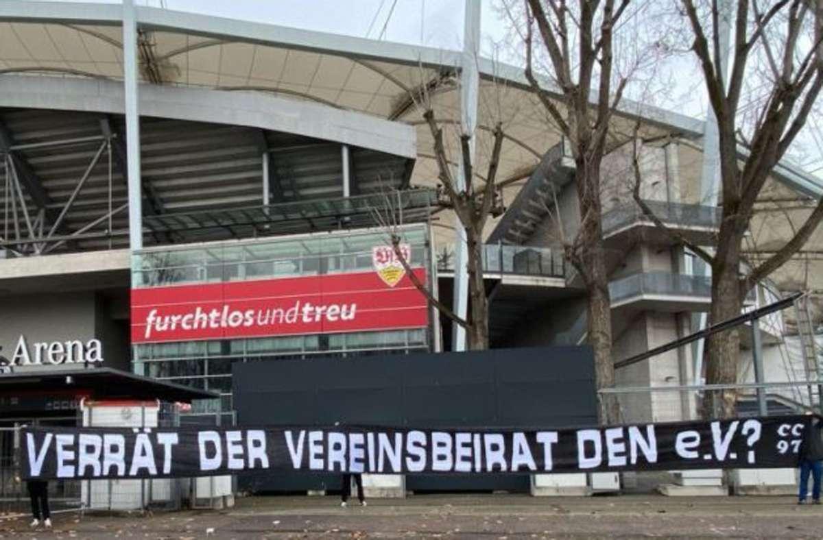 Die Ultras von Commando Cannstatt melden sich zu Wort und Beziehen Stellung zur Eskalation beim Kampf um die Macht beim VfB Stuttgart. Foto: Twitter/CommandoCannstatt