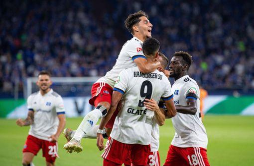 Hamburger SV gewinnt Auftakt beim FC Schalke 04