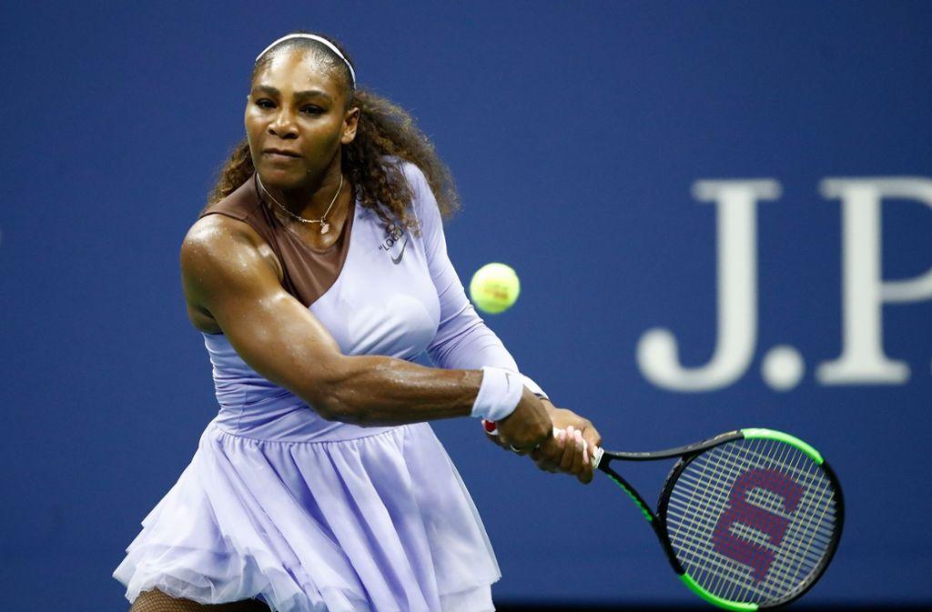 Kürzlich ging auch Tennisstar Serena Williams an die Öffentlichkeit. Foto: Getty