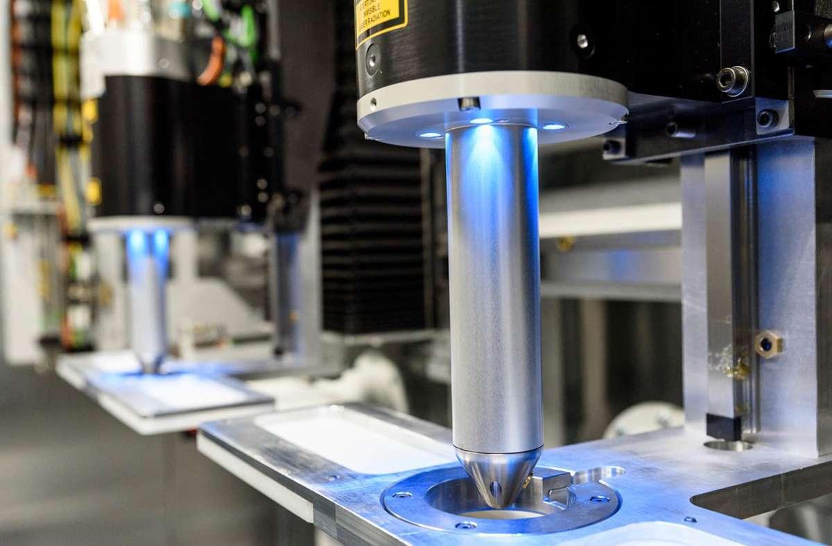 Lasertechnologie gehört zu den Themen, mit denen Gehring eigentlich die Zukunft meistern wollte. Foto: Gehring