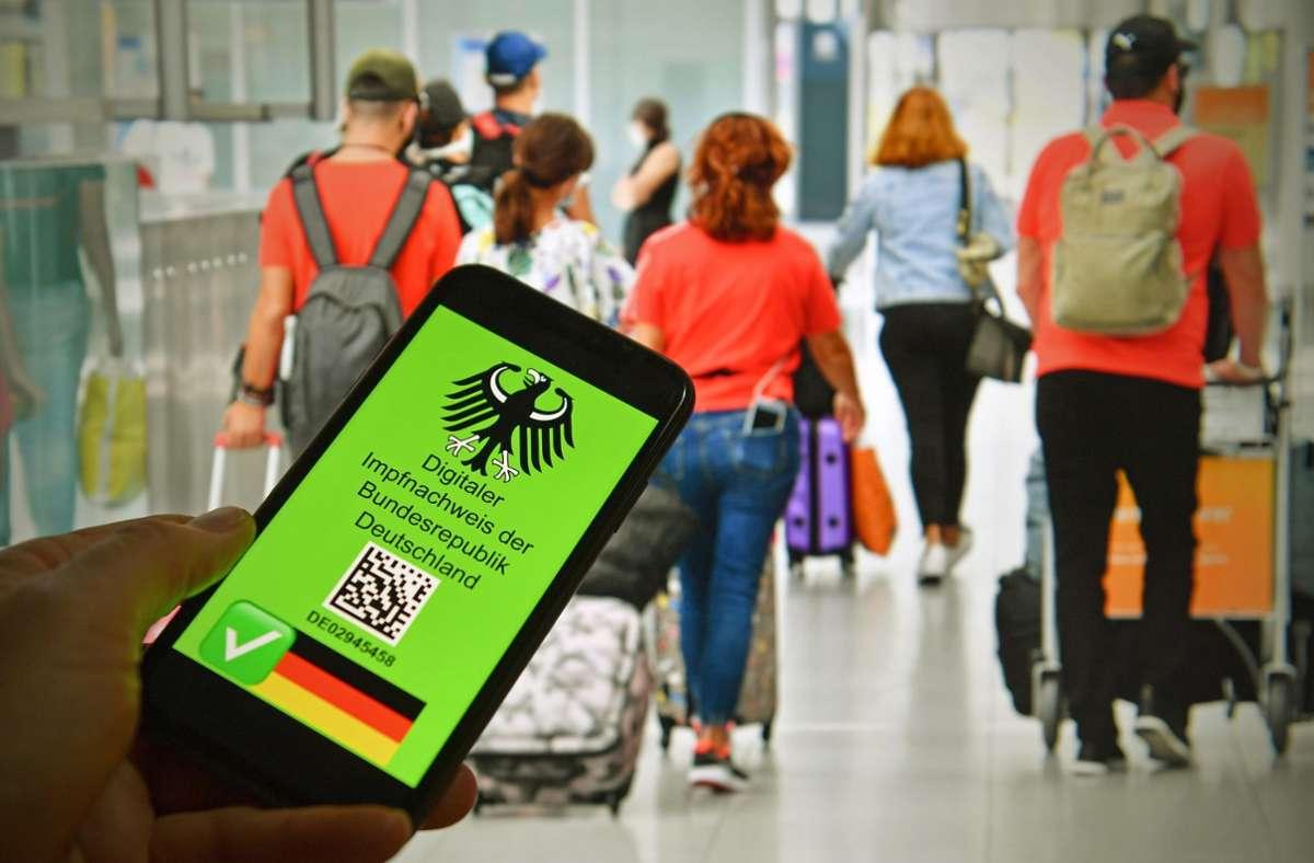 Der digitale Impfpass soll das Reisen erleichtern. Foto: imago/Sven Simon