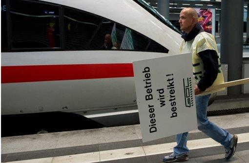 Lokführer für erneuten Streik