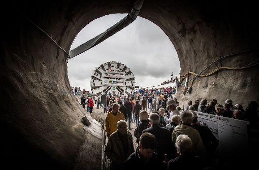 Der Fildertunnel ist Thema in Degerloch