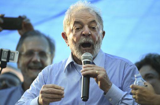 Langjährige Haftstrafe für Ex-Präsidenten Lula