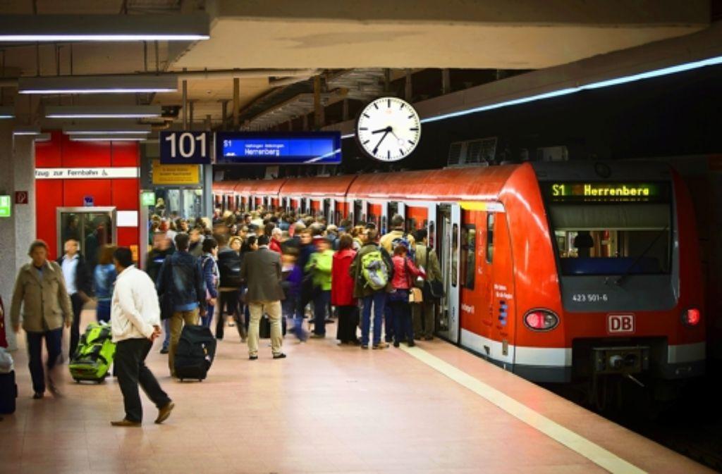 Die Probleme der S-Bahn bestimmten seit Wochen die Diskussion über den öffentlichen Nahverkehr. Foto: Achim Zweygarth