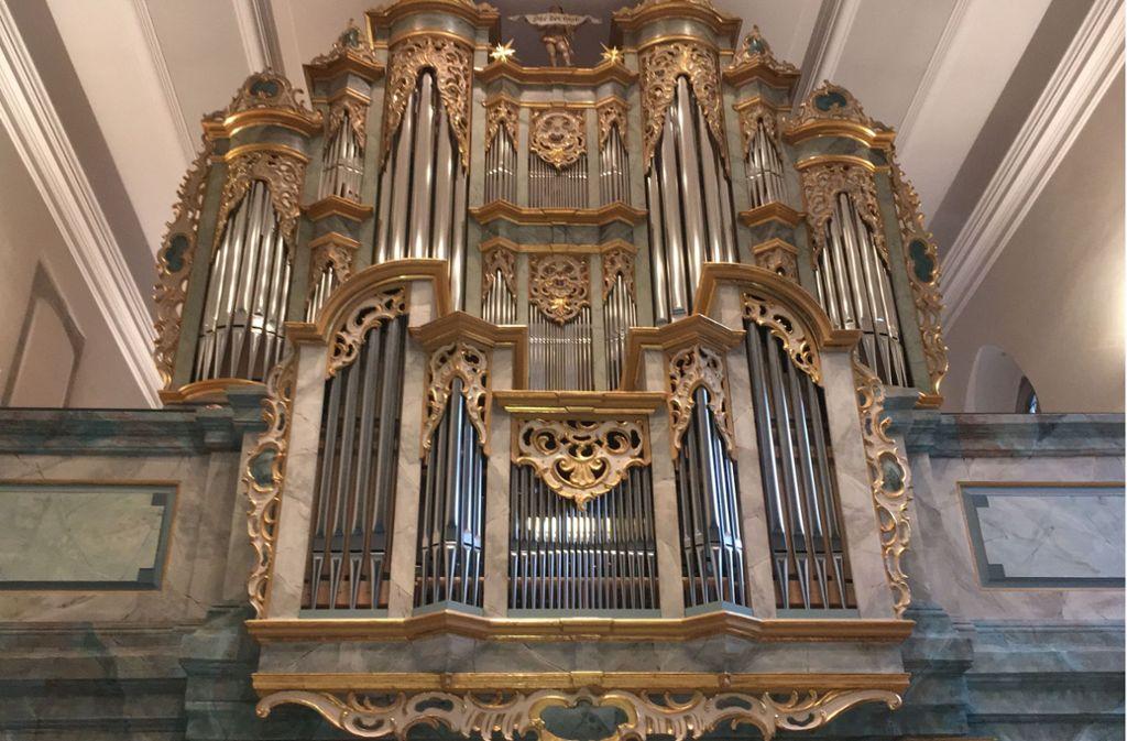 Die Orgel der Lutherkirche in Bad Cannstatt Foto: Veranstalter
