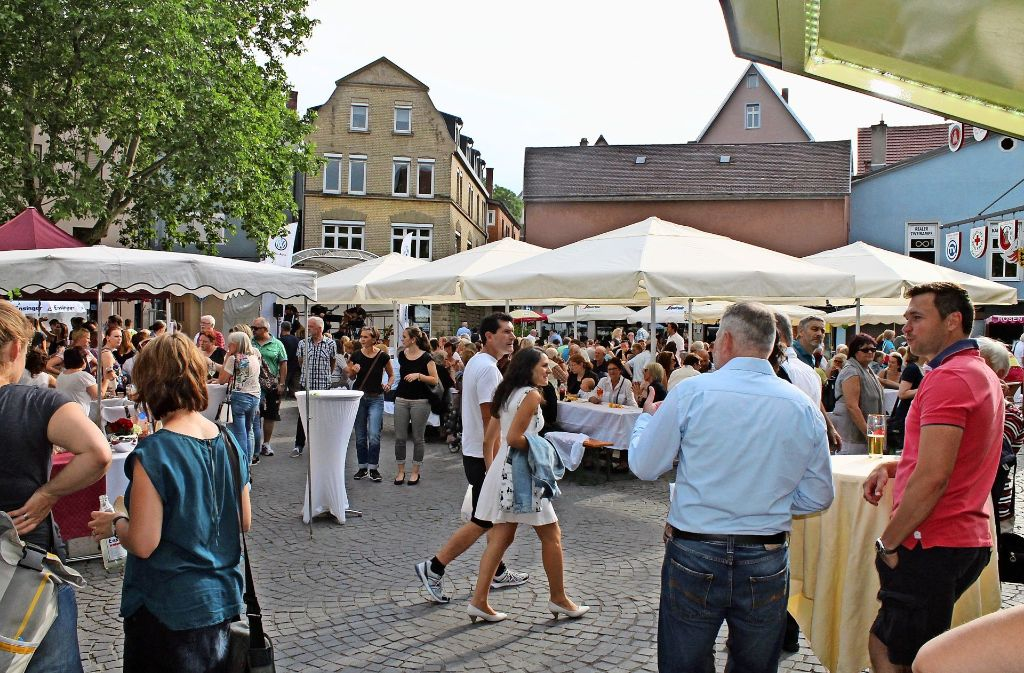 So soll der Marktplatz freitags wieder aussehen. Foto: Veranstalter
