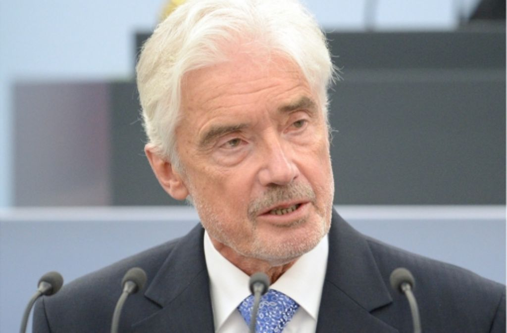 Straffällige Asylbewerber sollten hier ins Gefängnis, sagt Ulrich Goll (FDP). Foto: dpa