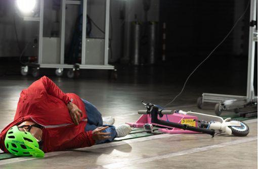 Schwerer Unfall mit E-Roller – Notarzt rückt aus