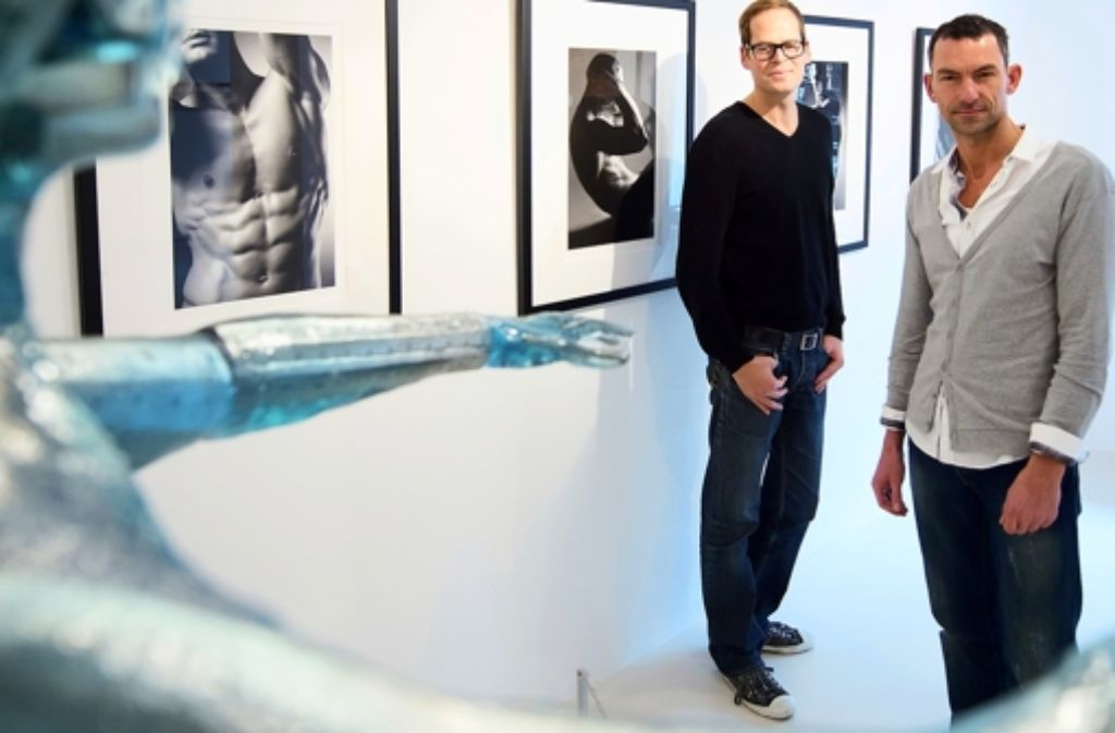 Ralf Wehrle und Uwe Frank sind Fotografen und seit drei Jahren Galeristen Foto: Martin Stollberg