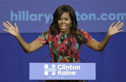 Die starke Frau an Clintons Seite