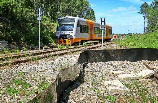 Arbeiten an der Schönbuchbahn starten