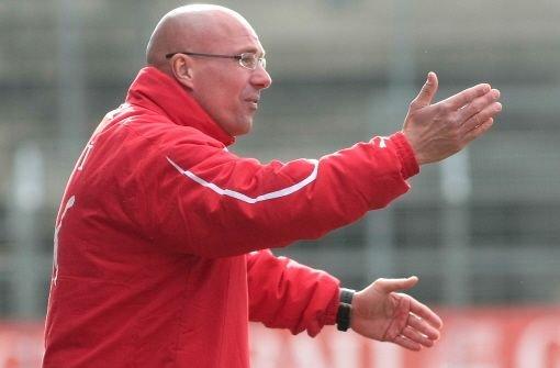 Trainer Jürgen Seeberger muss gehen. Foto: Baumann