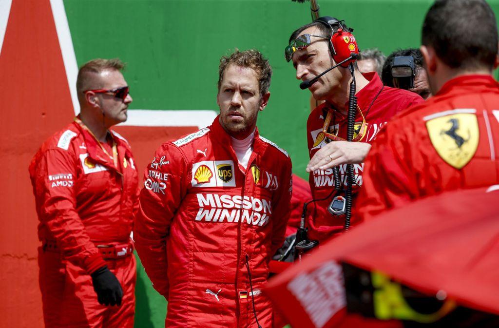 Sebastian Vettel hat nach zwei Töchtern einen Sohn bekommen. Foto: imago images/HochZwei