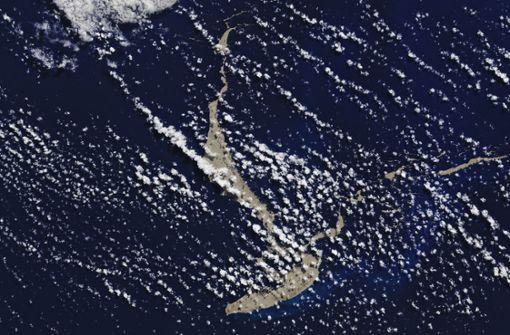 Gigantischer Teppich aus Vulkanstein im Ozean entdeckt