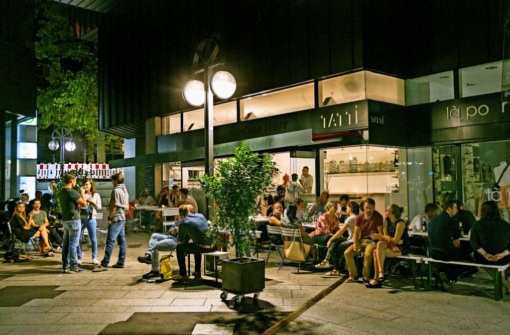 Tattis Bar im Fluxus ist eine beliebte Location für Geburtstage. Foto: Lichtgut/Horst Rudel