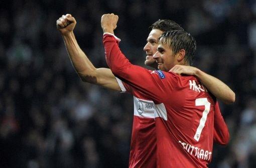 Der VfB Stuttgart hat das Europa-League-Rückspiel gegen Kopenhagen mit 2:0 gewonnen. Foto: dpa