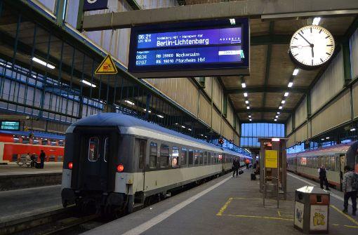 Abfahrt von Stuttgart ins Ungewisse