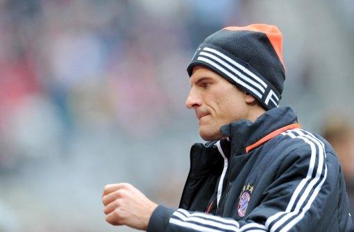 Mario Gomez wird sich auch beim Spiel gegen den VfB mit der Joker-Rolle zufrieden geben müssen. Foto: dpa