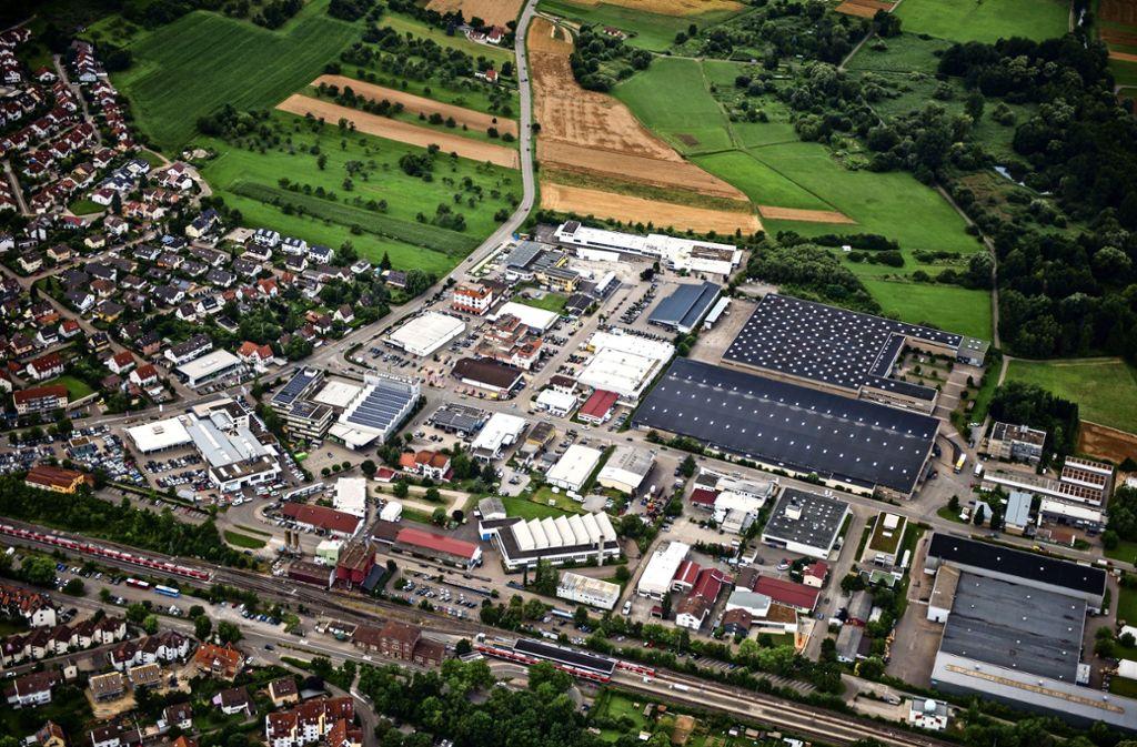 Derzeit ist Lidl im Weil der Städter Industriegebiet angesiedelt. Dort will der Discounter auch neu bauen. Foto: Holger Leicht