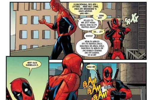 Spider-Man, der Hurgler