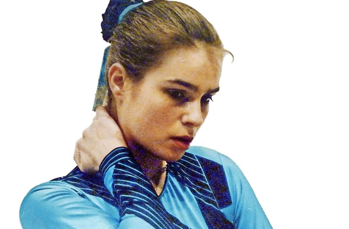 Katarina Witt 1986 beim Training Foto: Katarina Witt