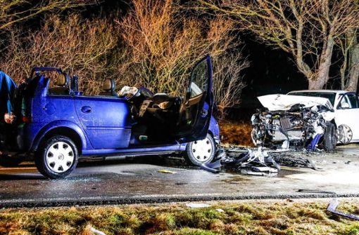 Schwerer Unfall – Frau mit lebensgefährlichen Verletzungen  gerettet