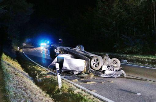 Drei Menschen bei Unfall verletzt
