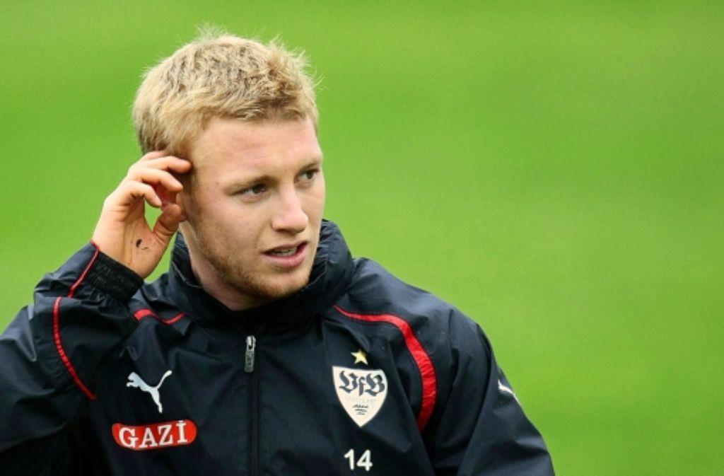 Patrick Funk sieht, dass es viele Talente im deutschen Fußball gibt. Foto: Baumann