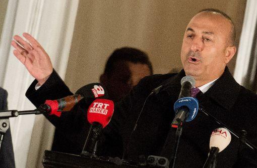 Türkischer Außenminister greift Deutschland scharf an