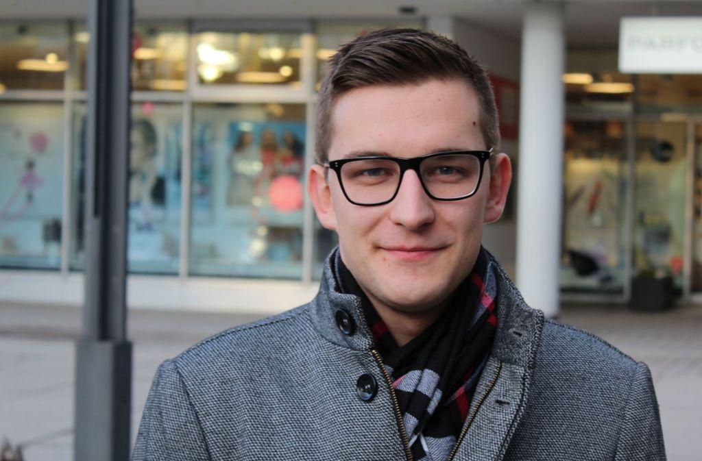 Daniel Krusic hält es für einen großen Erfolg des JGR, dass das freie WLAN nun kommt. Foto: Jacqueline Fritsch